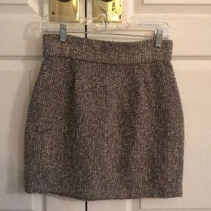 Sz 8 B.B. Dakota short tweed skirt